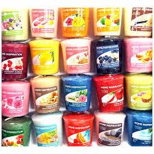 yankee candle lot de 8 bougies votives festives parfumà es