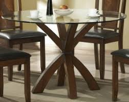 Round Glass Dining Room Table Sets Foter - Dining room table glass
