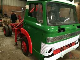 1972 ford d series lorry chassis cab with crane