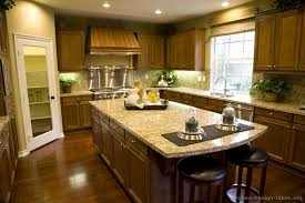 Kitchen Idea Of The Day Warm  Inviting Medium Brown Kitchen - Medium brown kitchen cabinets