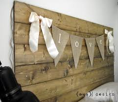 Reclaimed Wood Headboard by How To Make A Reclaimed Wood Headboard With New Wood For Less Than 50