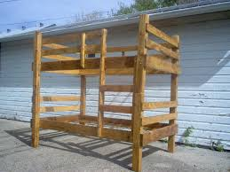 Log Bunk Bed Plans Diy Log Bunk Bed Plans Plans Diy Wood Plans Computer Desk