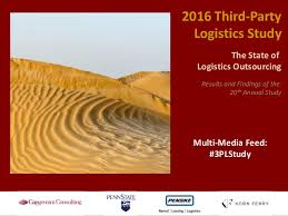 3pl Study The State 2016 3plstudy The State Of Logistics Outsourcing