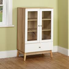 display cabinet with glass doors white curio cabinet colortime vista display cabinet in sand shell