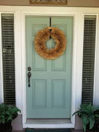 beige house front door paint color schemes blue is calming