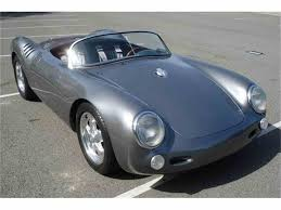 porsche spyder replica 1955 porsche 550 spyder replica for sale classiccars com cc 609182
