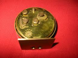 Nautical Desk Clock Seth Thomas Antique Brass Miniature Desk Clock For Sale Antiques