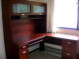home office l shaped desk with hutch ideal computer desk with hutch thedigitalhandshake furniture