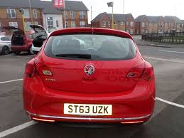 vauxhall red 2014 vauxhall astra excite 7 500