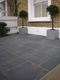 Interlocking Slate Patio Tiles by Black Grey Slate Paving Patio Garden Slabs Slab Tile Images