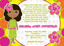 luau invitations invitation wording for 7th birthday party unique luau birthday
