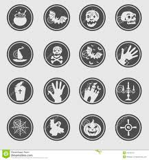 free halloween icon halloween icons royalty free stock photo image 34542475