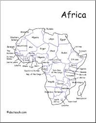 africa map labeled countries map africa labeled countries abcteach