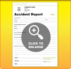 templates for accident report book and vehicle condition report books