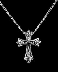 cremation pendants sterling silver fleur de lis cross cremation pendant 36 573 129