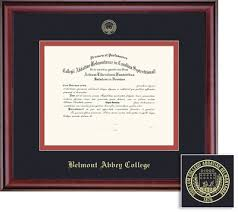 college diploma frame belmont college bookstore framing success classic diploma