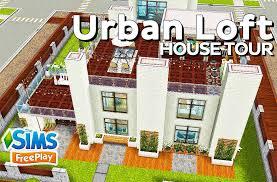 the sims freeplay urban loft original design youtube