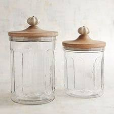 clear kitchen canisters canisters pier 1 imports