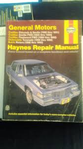 general motors haynes repair manual caddy olds buick 80s 90s