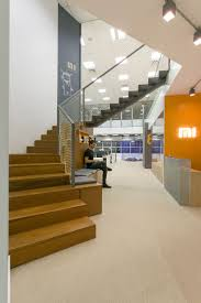 this new office design is filled with secluded areas to relax or