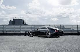 roll royce wraith on rims royce wraith featuring aftermarket adv 1 wheels installed