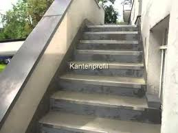 steinteppich verlegen treppe treppenrenovierung mit steinteppich