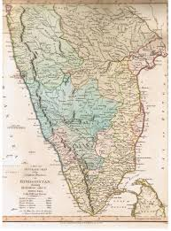 India Political Map South India Political Map