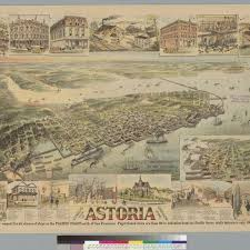 Map Of Astoria Oregon by Calisphere Stengele U0027s View Of Astoria Oregon 1890