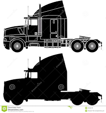 kenworth t600 price silhouette of a truck kenworth t600 stock illustration image