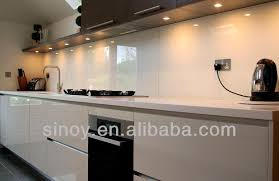 lacquered glass kitchen cabinets ral 1015 ivory lacquered glass lacobel glass ivory back