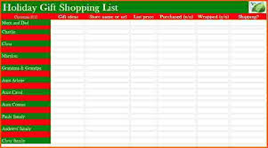 best christmas checklist template pictures resume samples