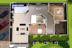 sims modern house floor plans displaying building plans online