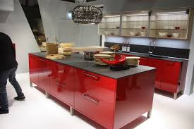 Kitchen Island Red by Kitchen Glamorous Nobilia Soapstone Countertops Nice Red Glossy