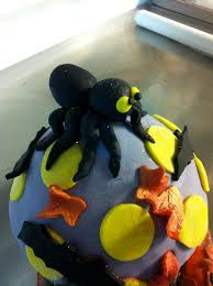 halloween giant cupcake the cake shaker