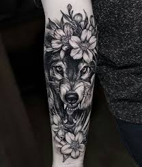 angry wolf tattooclick the link now to find the center in you with