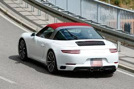 new porsche 911 interior 2016 porsche 911 facelift interior revealed in fresh spyshots
