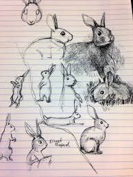 busy drawing illustration blog bunny sketches