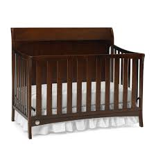 How To Convert Crib To Toddler Bed by Fisher Price Georgetown Convertible Crib Espresso Walmart Canada