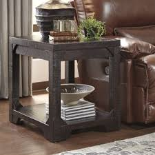 livingroom end tables industrial end side tables you ll wayfair