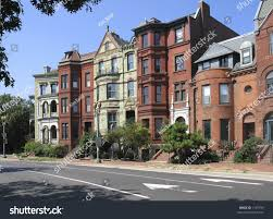 Row Houses dc rowhouses logan circle stock photo 1149190 shutterstock