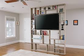 the home designers the best home design crafted room divider bookshelf
