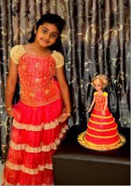 barbie doll cake birthday party prema u0027s culinary