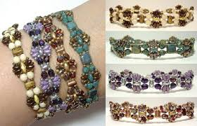 around the beading table around the beading table miniduo bead pattern dragonfly bangles