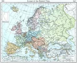 Map Of Europe And Asia by Atlas Of Europe Wikimedia Commons