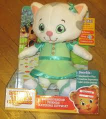 daniel tiger plush toys daniel tiger u0027s neighborhood friends katerina kittycat singing