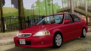 kereta honda civic honda civic 1992 sedan for gta san andreas