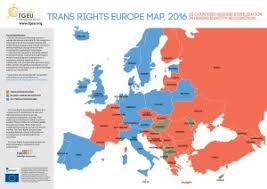 map eroupe trans rights europe map index 2016
