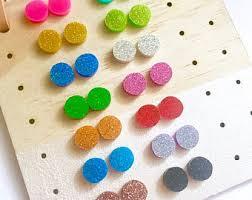 nickel free earrings australia dachshund glitter earrings your colours nickel free