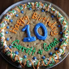 birthday cookie cake cookie cake decorating ideas birthday crafty photos on