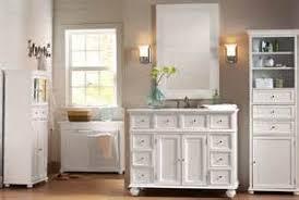 Hampton Bay Vanities Cabinet Bathroom Vanity Linen Cabinet Sets Hampton Bay 44w Single